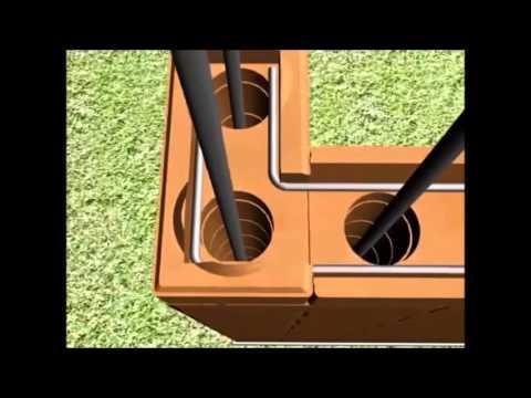 Изготовление кирпича кустарным способом. - YouTube