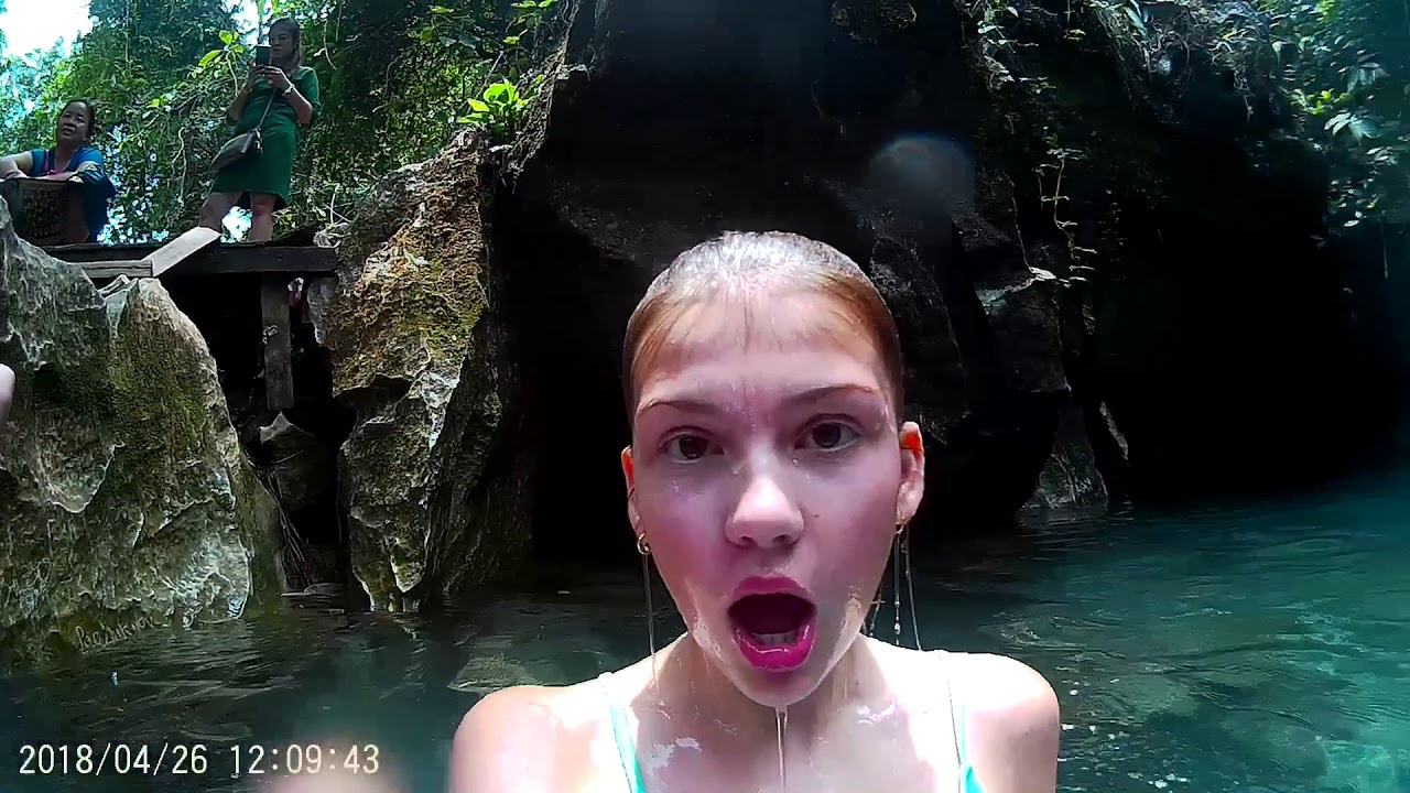 Blue Lagoon .... 2 Vang Vieng Laos & Tam Chang Cave 2018 Laos Tuk Tuk