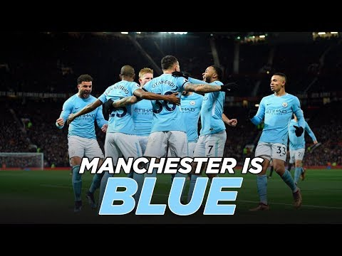 Man United 1-2 Man City   MANCHESTER IS BLUE