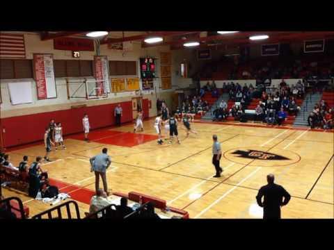 Glens Falls vs Hudson Falls High School Basketball 2nd Half   2 8 17