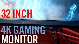 [PC] Acer Predator XB321HK Review - 32 INCH 4K G-SYNC Gaming MONITOR