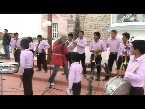 Juniors Band concurso de Bandas en el Quinche