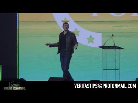 James O'Keefe Turning Point #SAS2020 | Veritas Camera Angle