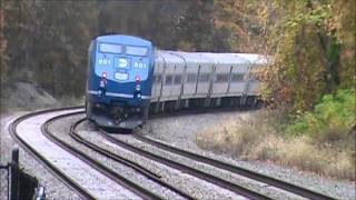 Garrison, NY (Metro North Railroad Hudson Line) - October 27, 2012