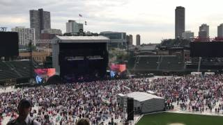 Chris Stapleton Death Row Live Wrigley Field June 29, 2017