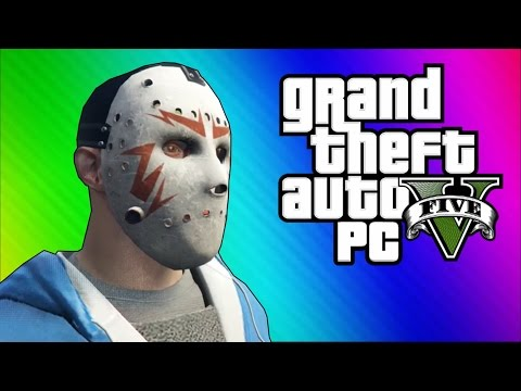 Thumbnail: GTA 5 PC Online Funny Moments - Clapping Man & Defending the Hangar!
