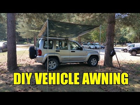 Overland Vehicle DIY 4x4 Awning