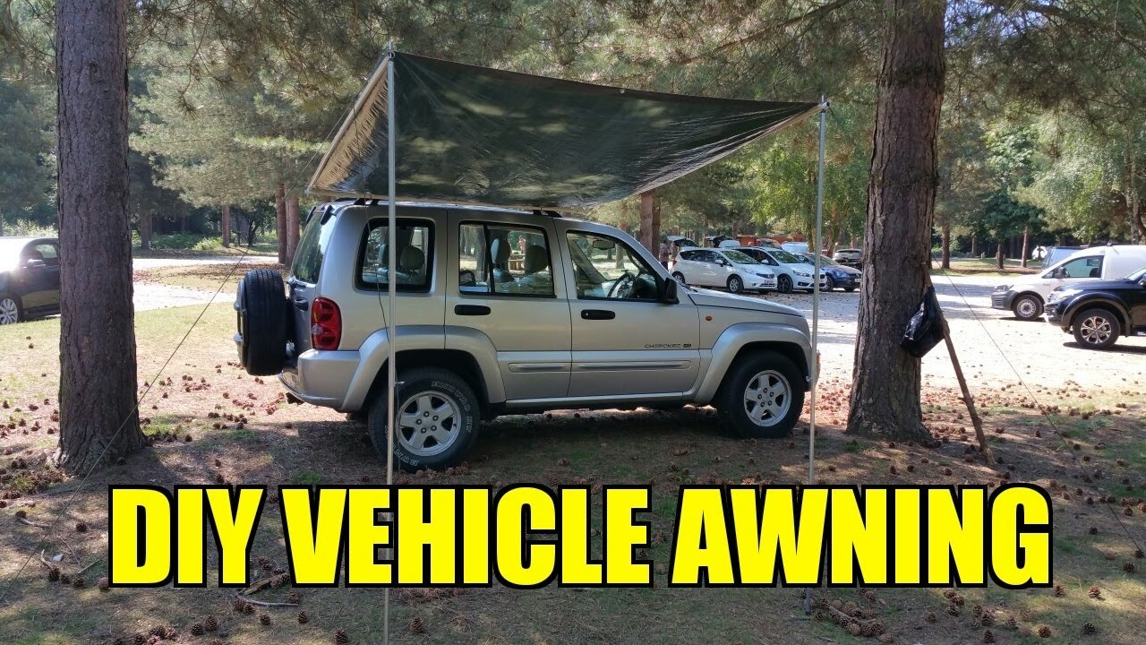 Homemade Land Rover Awning - Homemade Ftempo