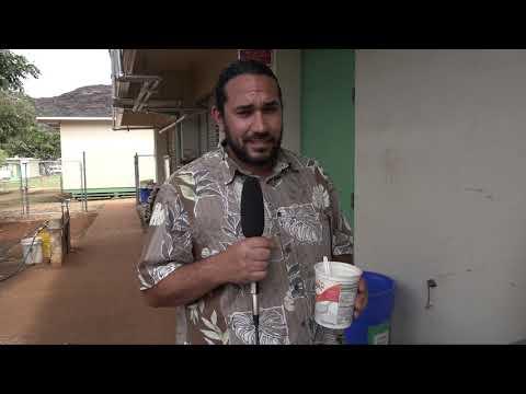 AQUAPONICS GARDEN @ NANAKULI ELEMENTARY SCHOOL, HAWAII