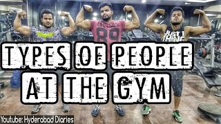 Types Of People At The Gym!!