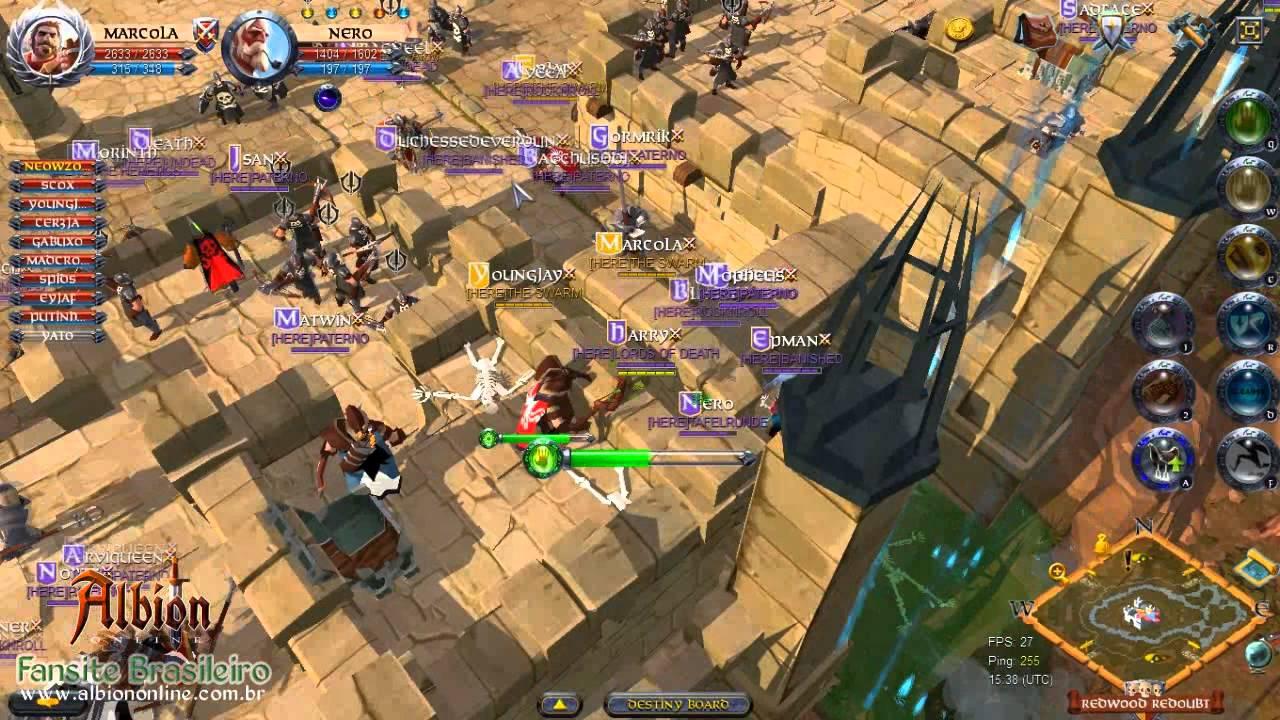 Albion Online: Gameplay (Castle Rock'n'Roll)
