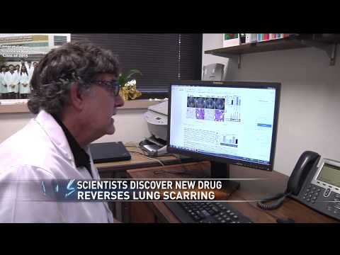 Local doctors discover new drug that could reverse lung scarring