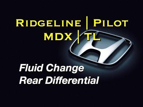 Honda Rear Differential Fluid Change - Pilot Acura MDX Honda Ridgeline - VTM-4 AWD 08200-9003