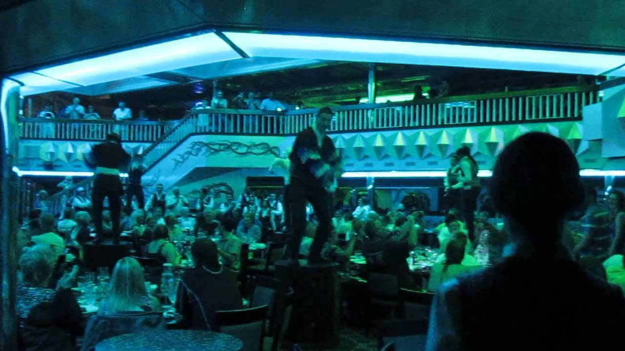Cruise Carnival Glory Dinner Dancing With Gangnam Style 01182014  YouTube