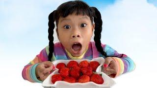 Ăn Quả Dâu Tây 40 Nghìn ❤Susi kids TV❤