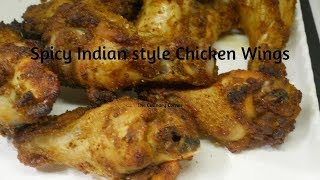 Spicy Indian Style Chicken Wings/ Drumettes