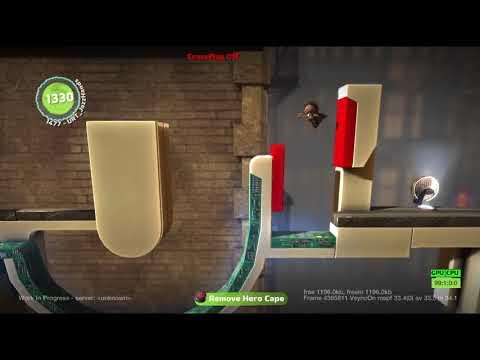 LittleBigPlanet 2 - Early DC Comics Build (May 2013)