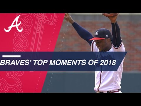 Top 10 Moments of the 2018 Braves' season