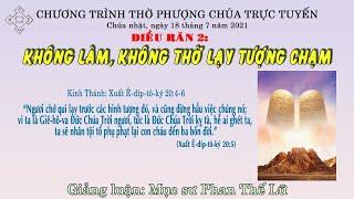 HTTL BẾN TRE - Chương trình thờ phượng Chúa - 18/07/2021