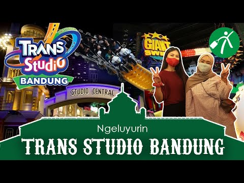 Serunya Naik Wahana di Trans Studio Bandung! Berani Coba?