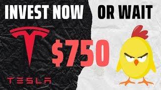Should I buy Tesla Stock or Wait?    Investing in Tesla   TSLA