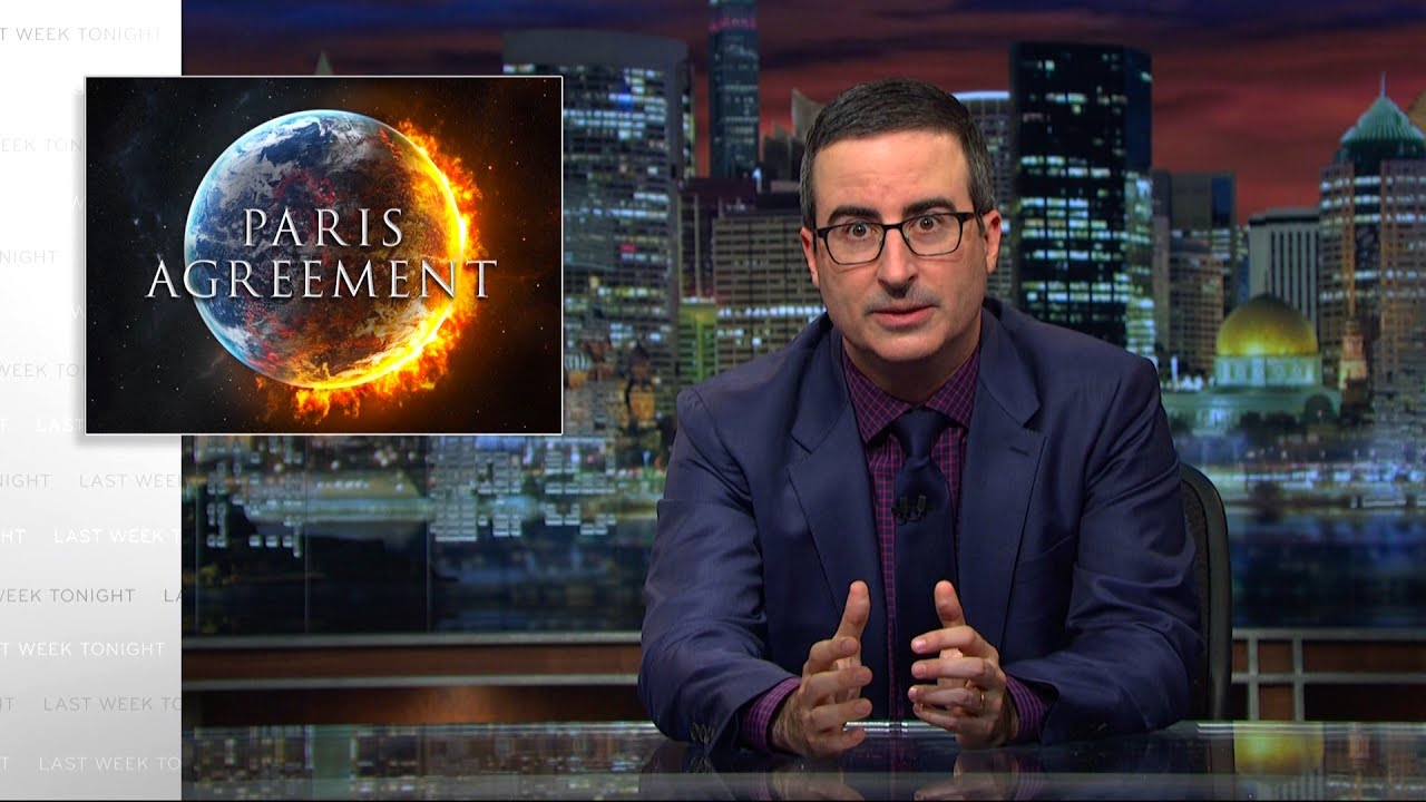 John Oliver- Pulling Out Of The Paris Agreement