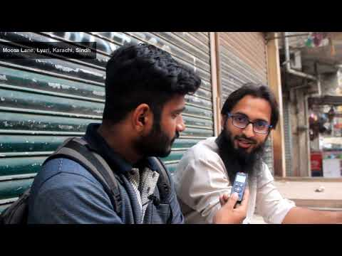 Tour of Lyari Town in Karachi, Sindh, Pakistan | لیاری‬ Sind