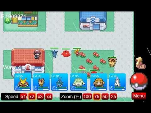 Pokemon Tower Defense -Tutorial- How To Beat Viridian City PTD 6.3