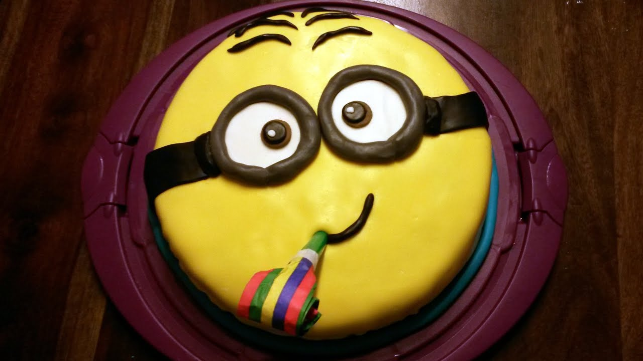 Minion Kuchen Backen Minion Kuchen Backen Deutsch With English Subtitles Minion Cake