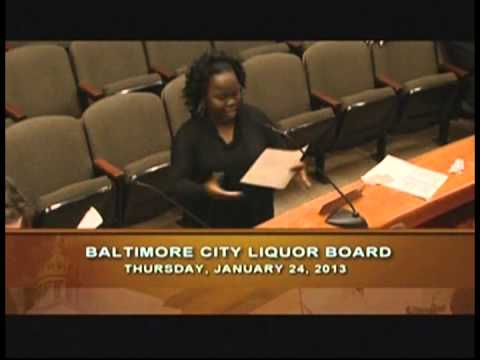 Board of Liquor License Commissioners for Baltimore City: Baltimore Soundstage