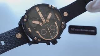 Men's Diesel Mr Daddy 2 0 4 Time Zone Oversize Watch DZ7350