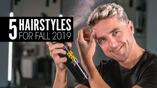 Best Mens Hairstyles for Fall 2019 - Men Hair Inspiration