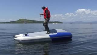 Как перевернуть лодку и выжить!(Автор этого видео - Вилен Шушеначев, Владивосток. Наглядно показано, что делать в случае оверкиля на ПВХ-лод..., 2016-07-19T04:58:37.000Z)