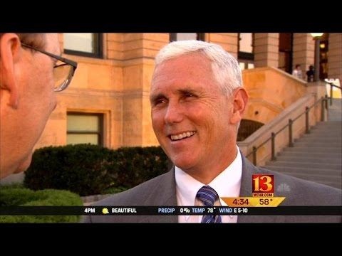 Gov. Pence visits Iowa for Midwest-Japan conference