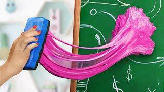 13 Cách Lén Mang Slime Vào Trong Lớp Học/Trò Đùa Học Đường Và Mẹo Vặt
