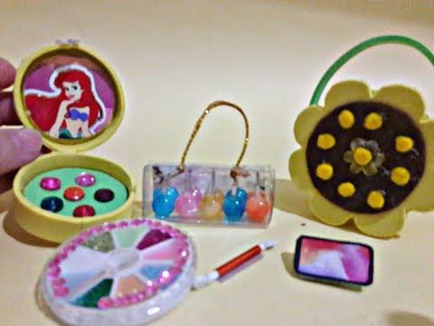 DIY Miniature Barbie Hacks and Crafts ~ Makeup, Phone, and more