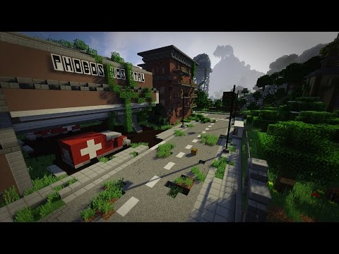 карты на майнкрафт 1.8.8 зомби города #3