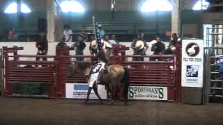 Linda @ Oregon State Fair Bull Ride in Salem