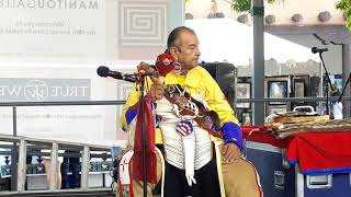 SF INDIAN MARKET 2019 - ROBERT TREE CODY PERFORMS ON SF PLAZA