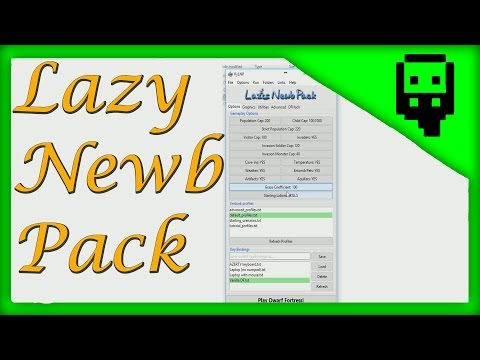 Dwarf Fortress: How to use Lazy Newb Pack
