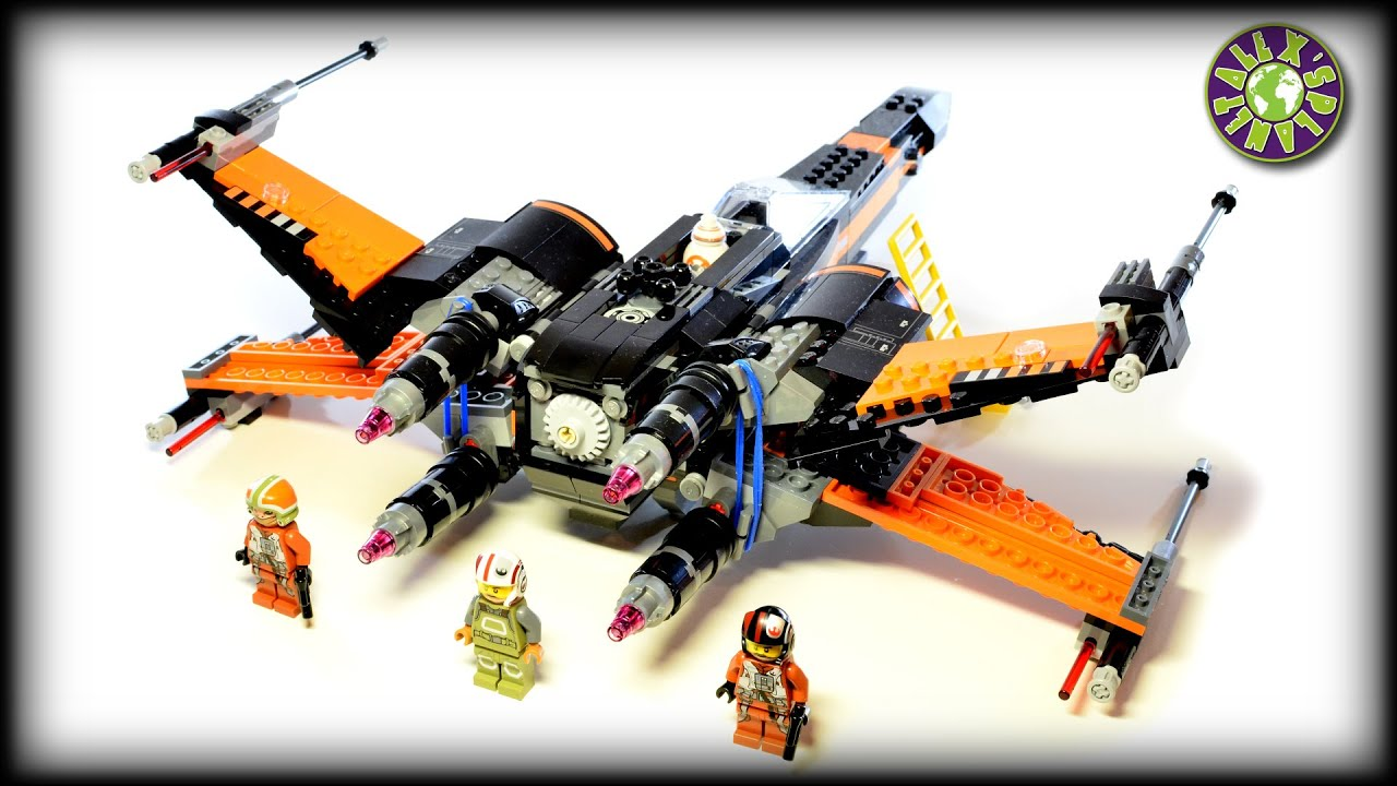 Lego star wars poe s x wing fighter review 75102 youtube - Lego Star Wars 75102 Poe S X Wing Fighter Stop Motion Review Alexsplanet Youtube