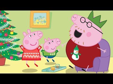 Peppa Pig Français | Père Noël 🎁 Joyeux Noël Peppa!  Dessin Animé
