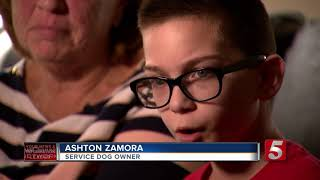 One Week Later: Clarksville Service Dog Still Missing