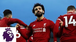Mohamed Salah's penalty kick puts Liverpool in front | Premier League | NBC Sports