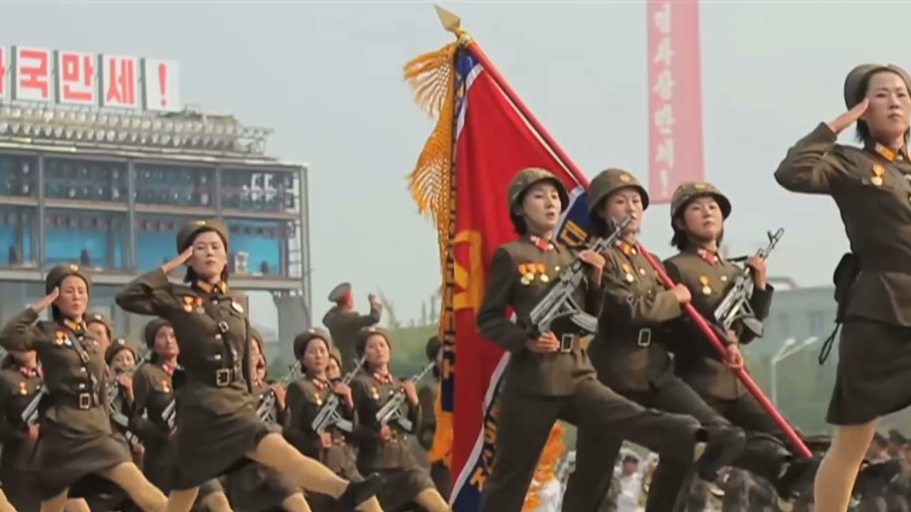 I put #1 Victory Royale music over North Korean Soldiers Marching...