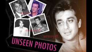 Unseen, Exclusive and rare photos of Sanjay Dutt