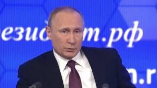 Пресс конференция Владимира Путина 23 декабря 2016 (23.12.2016) полная версия.