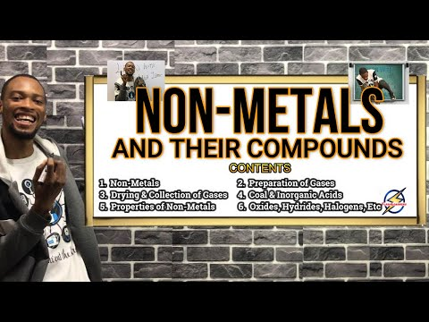 Non-Metals & Their Compounds | Detailed Explanations