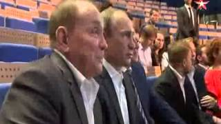 Как отреагировал Владимир Путин на шутку про себя