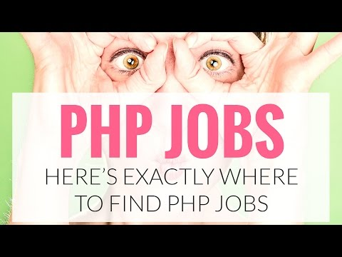 Where to Find PHP Jobs